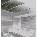 Plafond- en wandverwarming, 40cm breed, 200W/m2
