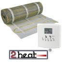EMATSET incl. thermostaat 2HEAT-TH88FL