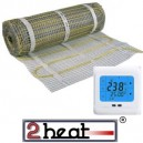 EMATSET incl. thermostaat 2HEAT-TH99