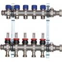 RVS Verdelers voor vloerverwarming serie 63